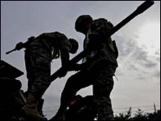 Lính Mỹ và Nam Hàn chuẩn bị tập trận