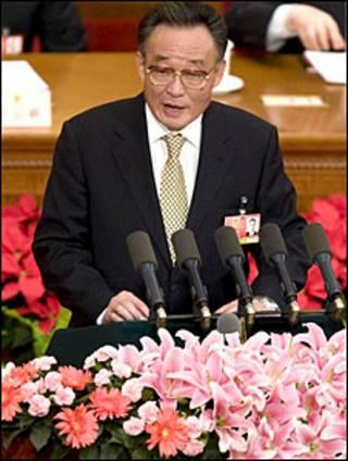 Chủ tịch Quốc hội TQ, Ngô Bang Quốc