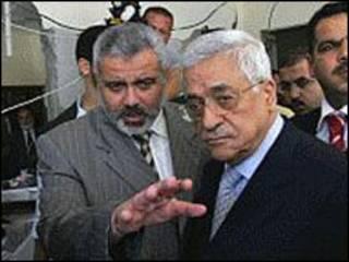 عباس و هنیه