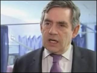Thủ tướng Gordon Brown