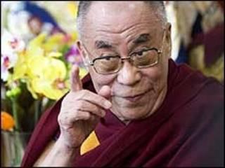 O líder espiritual tibetano, Dalai Lama