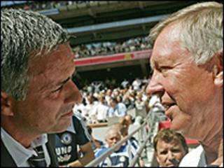 Mourinho và Ferguson