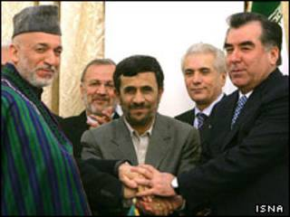 رحمان، احمدی نژاد، کرزی