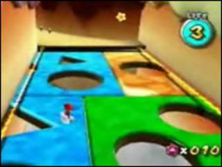 Imagem do videogame Super Mario Galaxy