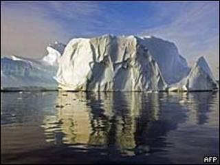 Iceberg na Antártida (AFP)