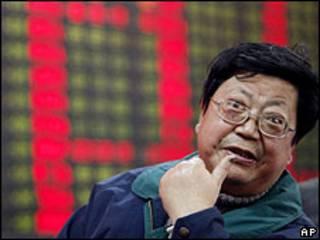 Homem na Bolsa de Xangai (9/3/2009)