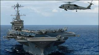 Hàng không mẫu hạm USS John Stennis của Hoa Kỳ