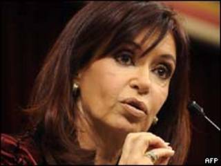 A presidente da Argentina, Cristina Kirchner (AFP)