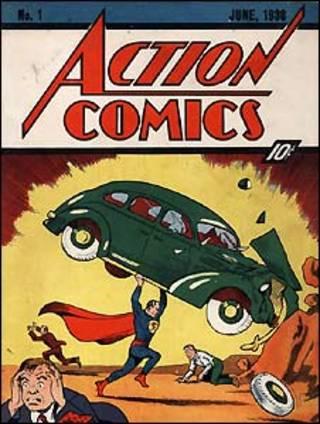 Primeira revista em quadrinhos do Super-Homem