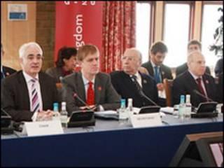 Ministros do G20 em Horsham