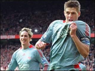 Cầu thủ Gerrard của Liverpool