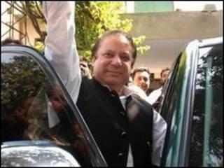 Nawaz Sharif deixa sua casa em Lahore