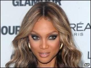 Modelo Tyra Banks (arquivo)