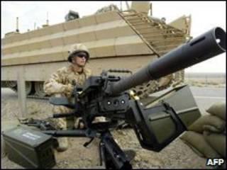سرباز بریتانیایی در عراق