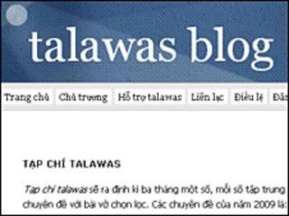 Trang Talawas Blog ra mắt 15/03/09