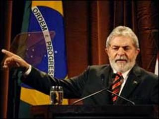 O presidente Lula durante seminário em Nova York (fonte: Ricardo Stuckert/PR)