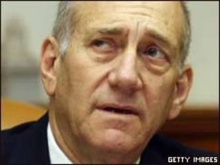 O primeiro-ministro israelense, Ehud Olmert (Gettu Images)