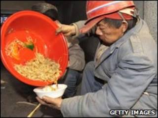 Trabalhador chinês (arquivo)