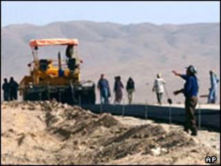 بازسازی در افغانستان