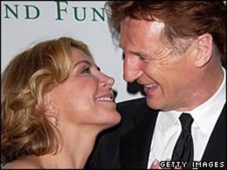 Natasha Richardson và chồng, Liam Neeson