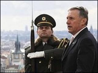 Thủ tướng Czech Mirek Topolanek