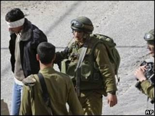 Detención de palestinos en Cisjordania (foto de archivo)