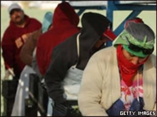 Trabajadores mexicanos en EE.UU.