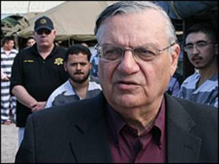 Joe Arpaio en Tent City