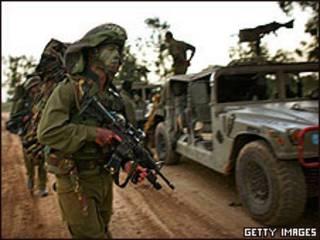 Soldado israelí en Gaza (foto de archivo)
