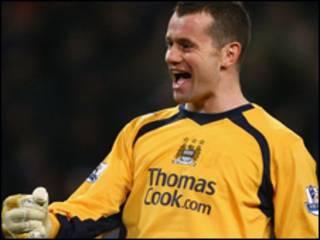 Thủ môn Shay Given của Man City người hùng của trận đấu