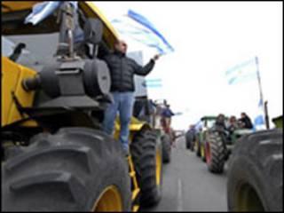 Protesto na Argentina (foto de arquivo)