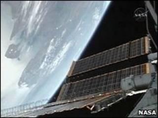 ایستگاه بین المللی فضایی عکس از ناسا