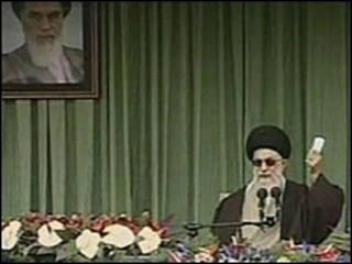 El Ayatolá Ali Khamenei, líder religioso supremo de Irán