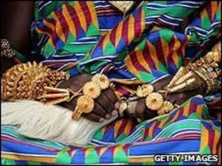 یک نفر از قبیله آشانتی