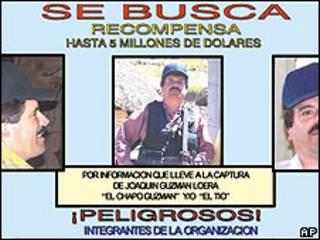 """Cartel de Joaquín """"El Chapo"""" Guzmán"""