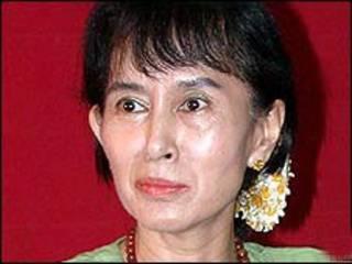 Lãnh tụ đối lập của Miến Điện, bà Aung San Suu Kyi