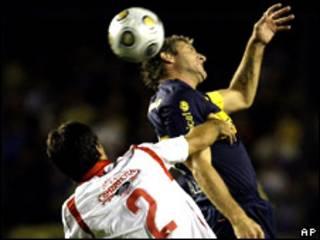Partida do campeonato argentino, entre Boca Juniors e Argentinos Juniors