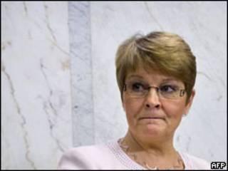 Maud Olofsson, vice-premiê da Suécia