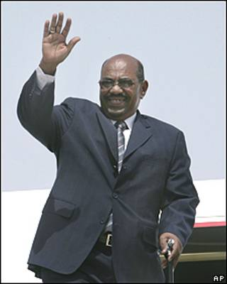El presidente de Sudán, Omar al-Bashir.