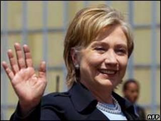 A secretário de Estado dos Estados Unidos, Hillary Clinton