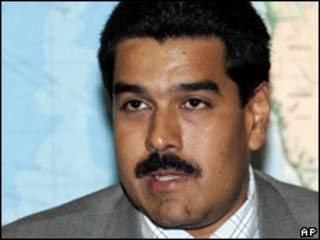 O chanceler venezuelano, Nicolás Maduro (AP/arquivo)
