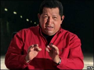 O presidente da Venezuela, Hugo Chávez (AFP/arquivo)