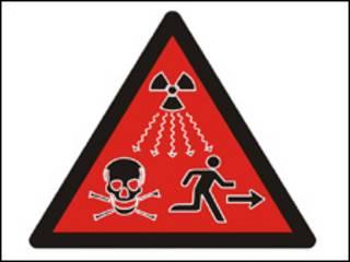 Símbolo de radioatividade da AIEA