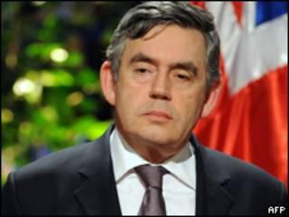 O primeiro-ministro britânico, Gordon Brown (AFP)