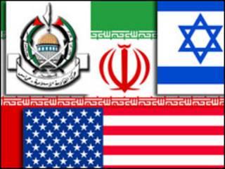 ایران آمریکا اسرائیل حماس