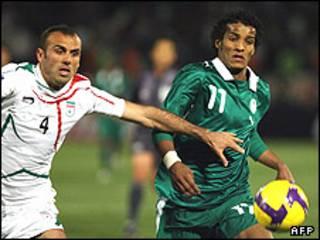 فوتبال ایران و عربستان