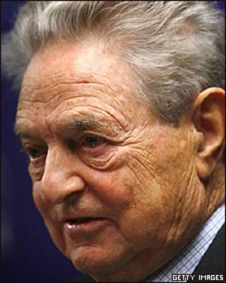 George Soros, multimillonario inversionista y filántropo