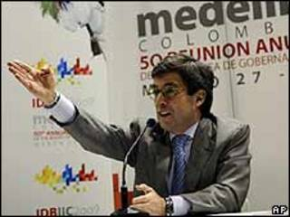 Luis Alberto Moreno, presidente del BID