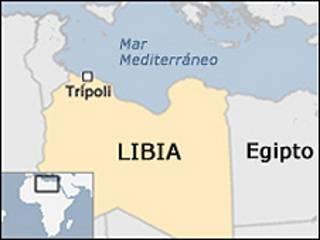 Mapa del norte de África