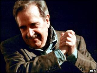 O ex-presidente argentino Raúl Alfonsín em foto de 1999 (AFP)